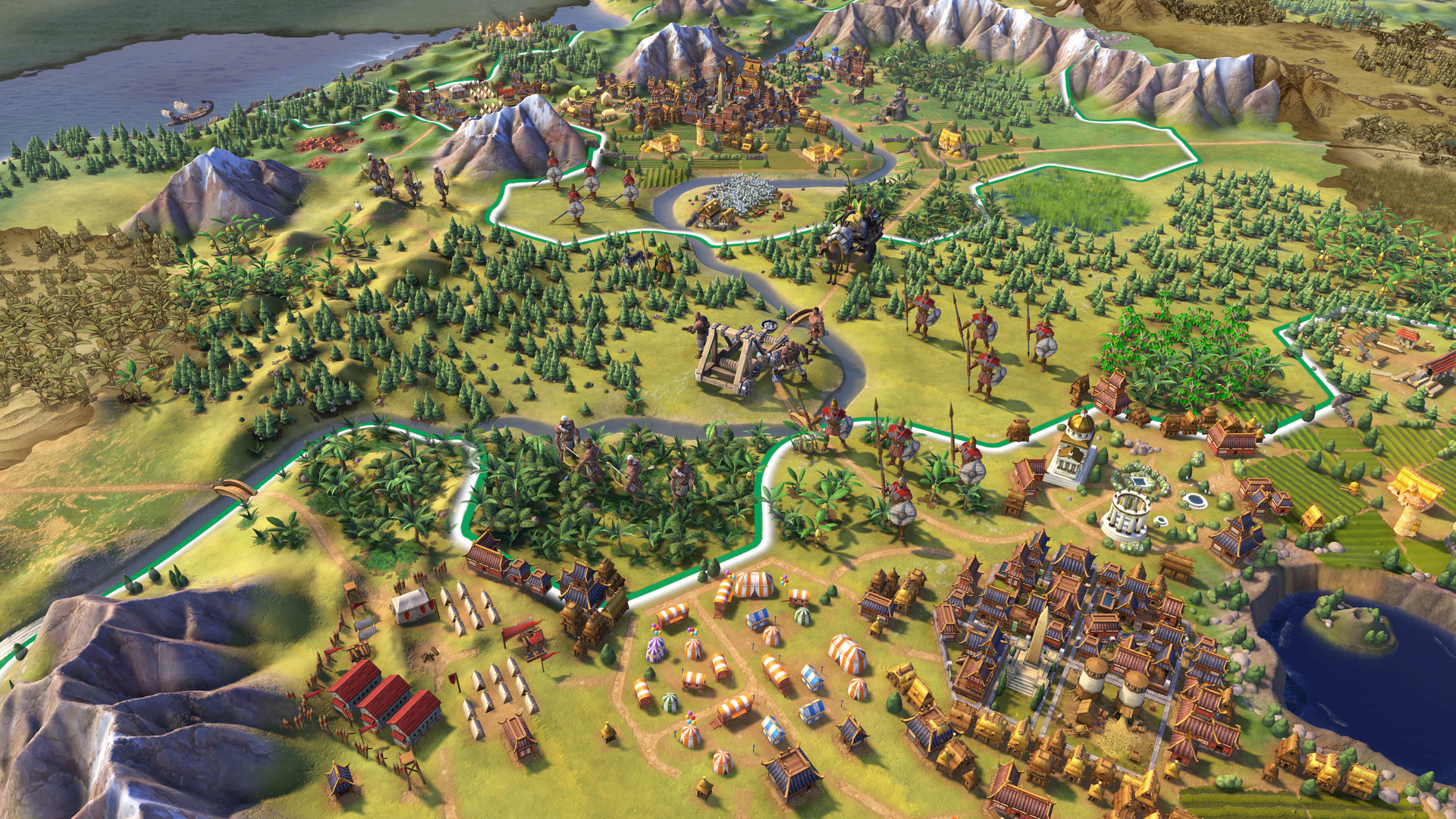 Скриншот Sid Meier's Civilization VI №3